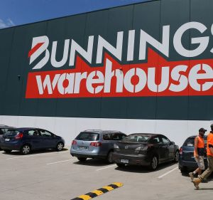 Bunnings continued to grow in Australia but has run into trouble in the UK and Ireland.