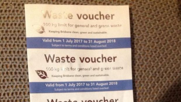 Brisbane City Council Waste Vouchers