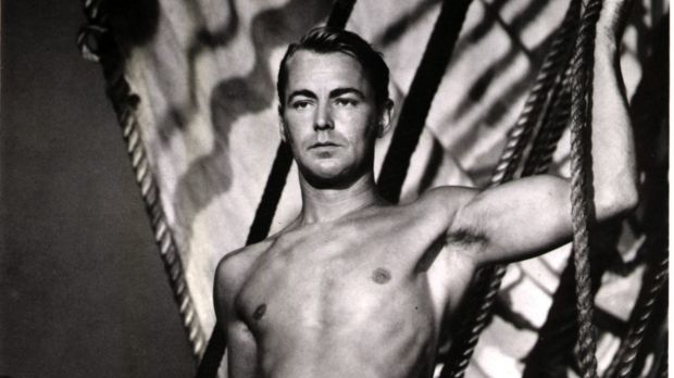 Alan Ladd in <i>Two Years Before The Mast</i>.