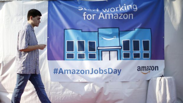 If Amazon does hire 50,000 people in the US this month, economists say that could be enough to make a meaningful impact ...