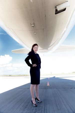 Kimberley Turner founded Aerosafe Risk Management when she was 18.