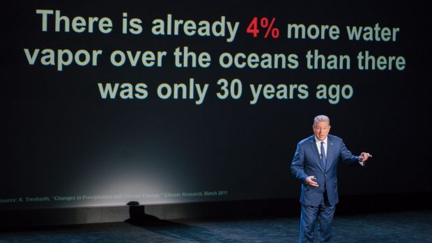Al Gore's mission has never wavered.