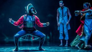 Bangarra Dance Theatre performs Bennelong at the Canberra Theatre.