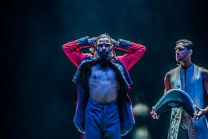 Bangarra dance company tells the story of Bennelong at the Canberra theatre. Photo by Karleen Minney.