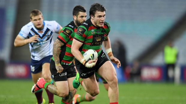 Pleasant surprise: Angus Crichton has been a rare bright spot for Souths this year.