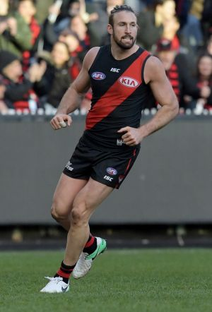 Cale Hooker was a late withdrawal from the Bombers side that beat Freo in round 23.
