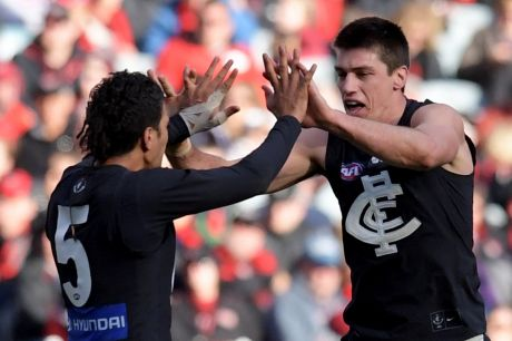 There have been positives among young and senior players at Carlton.