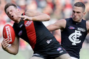 Essendon versus Carlton