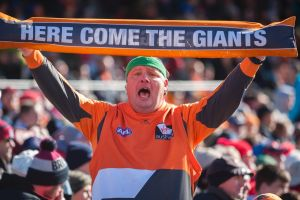 GWS Giants vs Demons Round 20 at Manuka Oval. Photo: Dion Georgopoulos