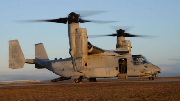 Remains of all USA marines recovered after Osprey crash off Queensland coast