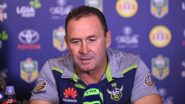 Raiders coach Ricky Stuart has warned his club to be ready for a Warriors backlash.