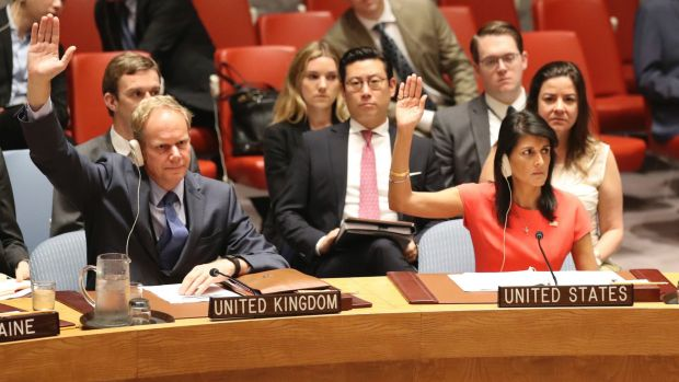 The United Nations Security Council votes to impose new sanctions on North Korea on Saturday.