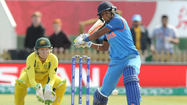 I'll have another bash: Indian star Harmanpreet Kaur is keen to return to the Sydney Thunder.
