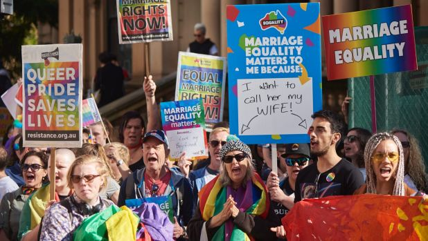 Australian PM Malcolm Turnbull condemns homophobic posters in gay marriage debate