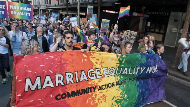 Despite strong public support for marriage equality, according to numerous polls, the federal government has remained ...