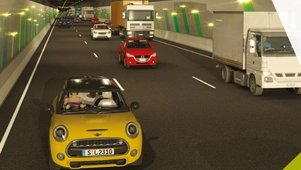 An image of the proposed North East Link tunnel, released by the government.