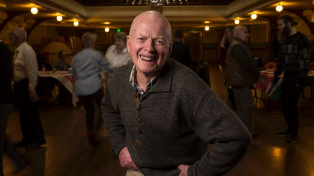 He's got the moves: David Morrison, 87, a regular at the LGBTI Elders Dance Club, which meets once a month at Fitzroy ...