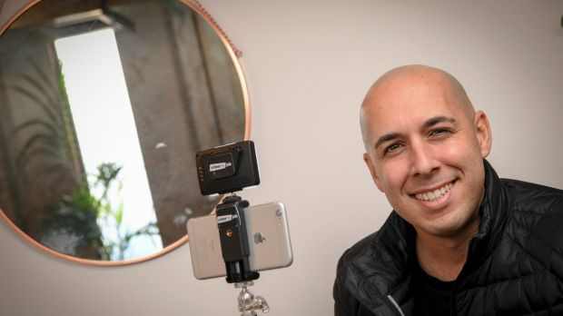 David Macciocca is meeting increased demand for videos.