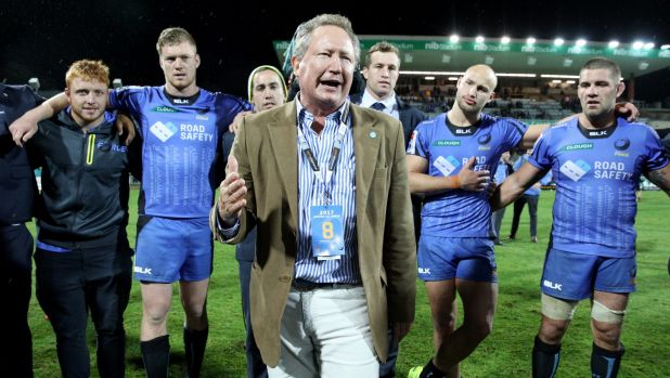 Andrew Forrest had vowed to save the Western Force, but the ARU has cut the team.