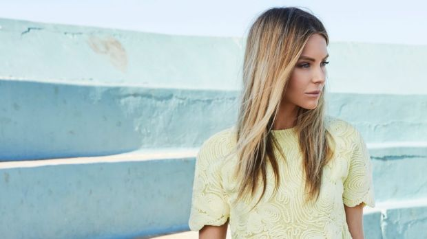 Jennifer Hawkins in Asilio for Myer's 2017 summer campaign.