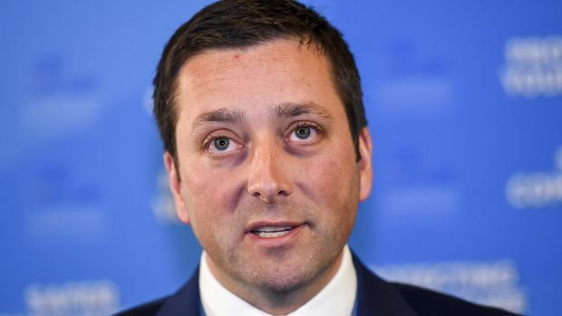 Victorian Opposition Leader Matthew Guy.