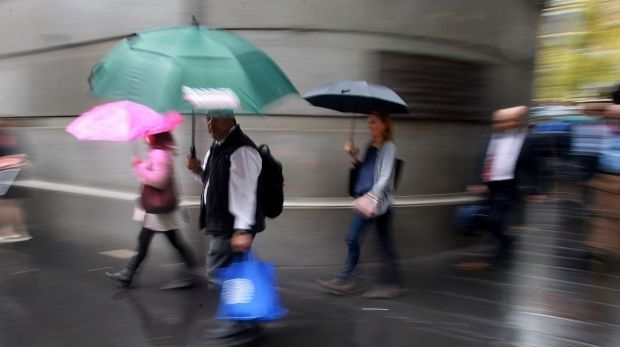 Wet wet wet: Not the 80s band, but the weather in Perth.
