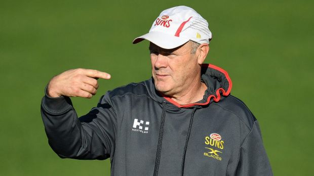 Marching orders: Rodney Eade was sacked as Gold Coast coach.