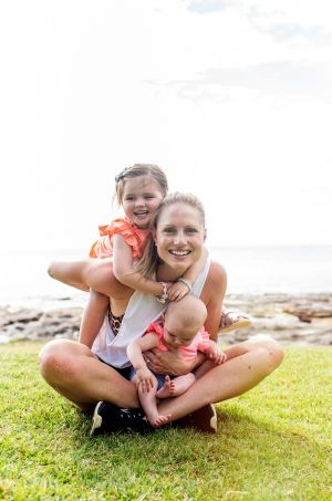 Kimberley Smith's The Fit Mummy Project app clocked up over 1000 downloads in the first few weeks after launch.