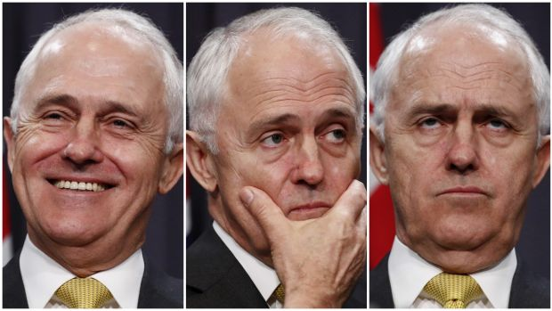 Prime Minister Malcolm Turnbull during a press conference on Tuesday.
