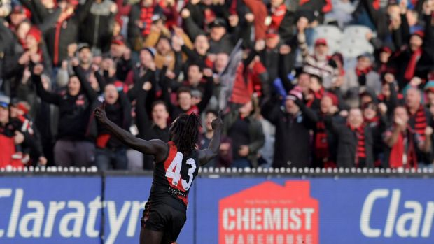 Revelation: The podders are impressed with Essendon this season.