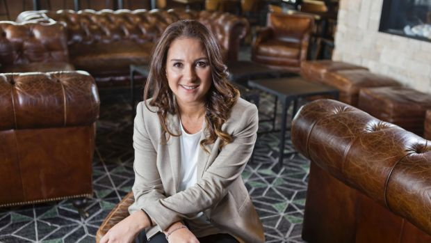 New startup: Entrepreneur Daniella Menachemson says she wanted to pursue her passions.