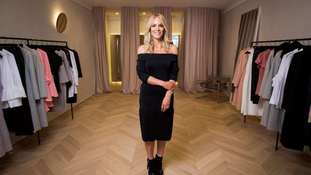 Rebecca Vallance-Gasan at her clothing shop Rebecca Vallance on High Street in Armadale. One of the secrets to the ...