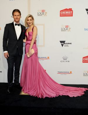 Last public appearance: Nation with Richie Strahan at the Logie Awards in April.