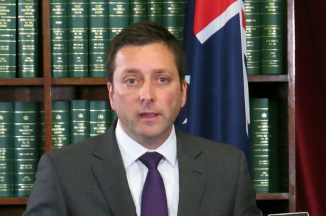 Opposition Leader Matthew Guy said he wasn't interested in academics' views about the policy.