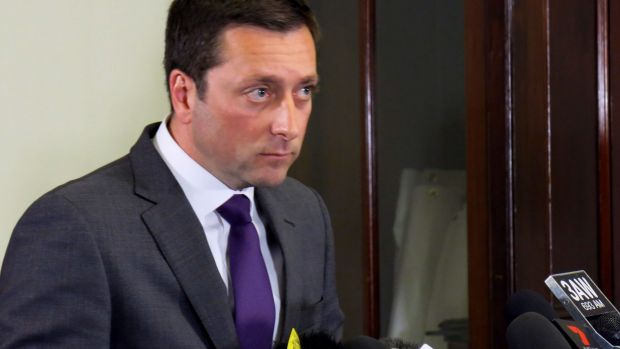 Opposition Leader Matthew Guy has insisted he did nothing wrong.