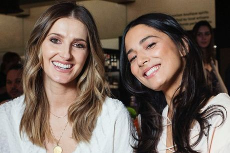 Kate Waterhouse and Jessica Gomes at The Restaurant at the David Jones Food Hall, Bondi Junction.