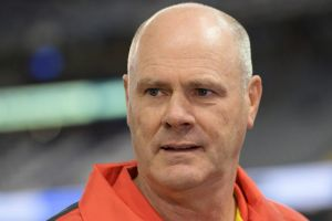 Cautionary tale: Rodney Eade faced many obstacles at the Suns.