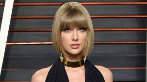 Taylor Swift, pictured at the Vanity Fair Oscar Party in 2016.