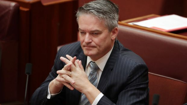 Acting Special Minister of State Mathias Cormann