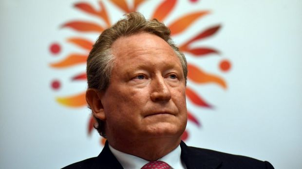 "Billionaire Andrew Forrest said the move was a ""tremendous decision""."