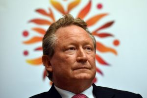 Billionaire Andrew Forrest could be counting on a yearly pay cheque of more than half a billion US dollars from 2018 if ...