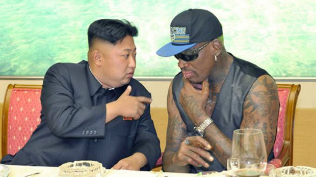 Former NBA player Dennis Rodman is one of very few outsiders who have been allowed to meet Kim Jong-un since he took power.