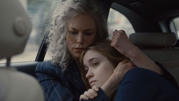 Nicole Kidman (left), seen with Alice Englert, personally asked director Jane Campion to be part of season two of Top of ...