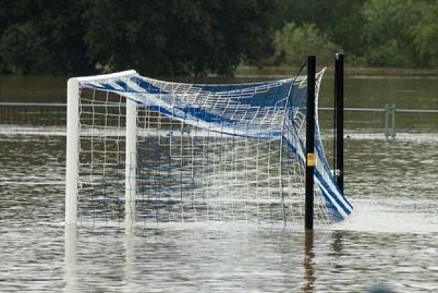 A friendly match between Joondalup United and Perth Glory at Percy Doyle Reserve has been postponed due to flooding.