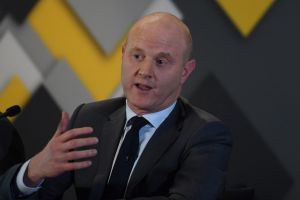 "Commonwealth Bank CEO Ian Narev. AUSTRAC said it had ""quite a lot of engagement"" with the bank."