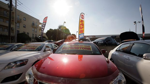 There was a surge in complaints about car dealerships.