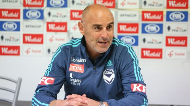 Melbourne Victory coach Kevin Muscat is furious his side will be missing three players due to the international window.