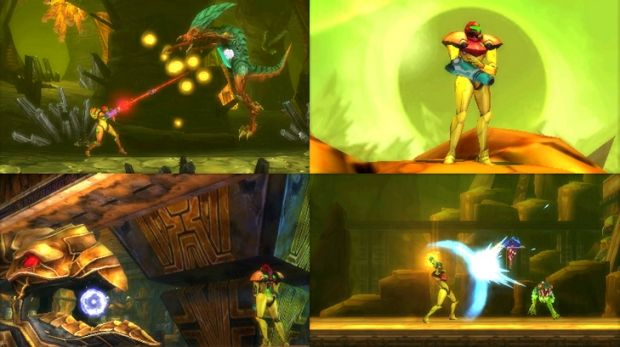 New combat abilities and cinematic camera angles set Samus Returns apart from other 2D Metroid titles.