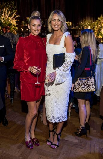Meet the in-laws: Karl Stefanovic's girlfriend Jasmine Yarbrough (L) and Channel Nine's Sylvia Jeffreys (R), who is ...