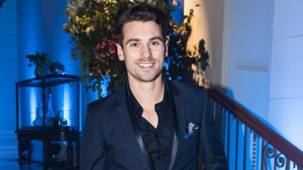 The Bachelor Matty Johnson swears he's just your average bloke. Pictured here at the David Jones Spring Summer 2017 ...